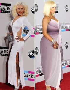 christina aguilera before-after