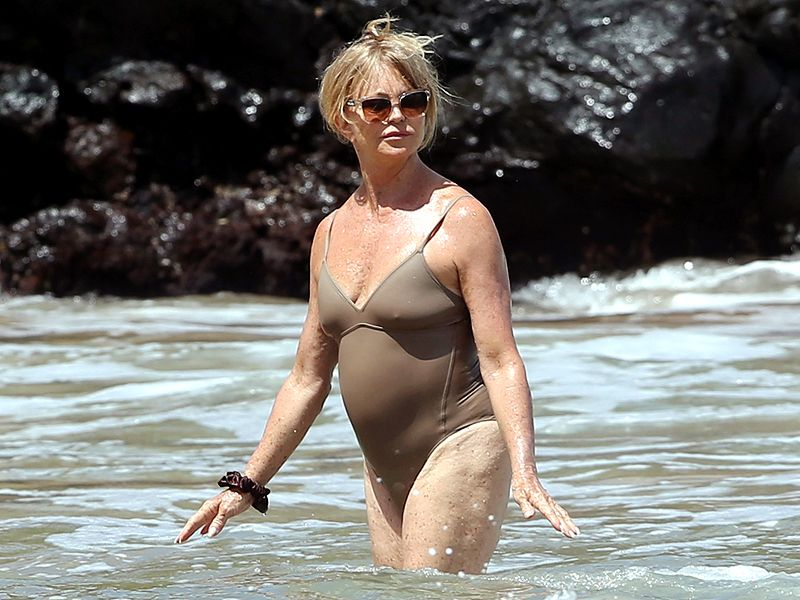 Goldie Hawn tips para estar fit después de los 50