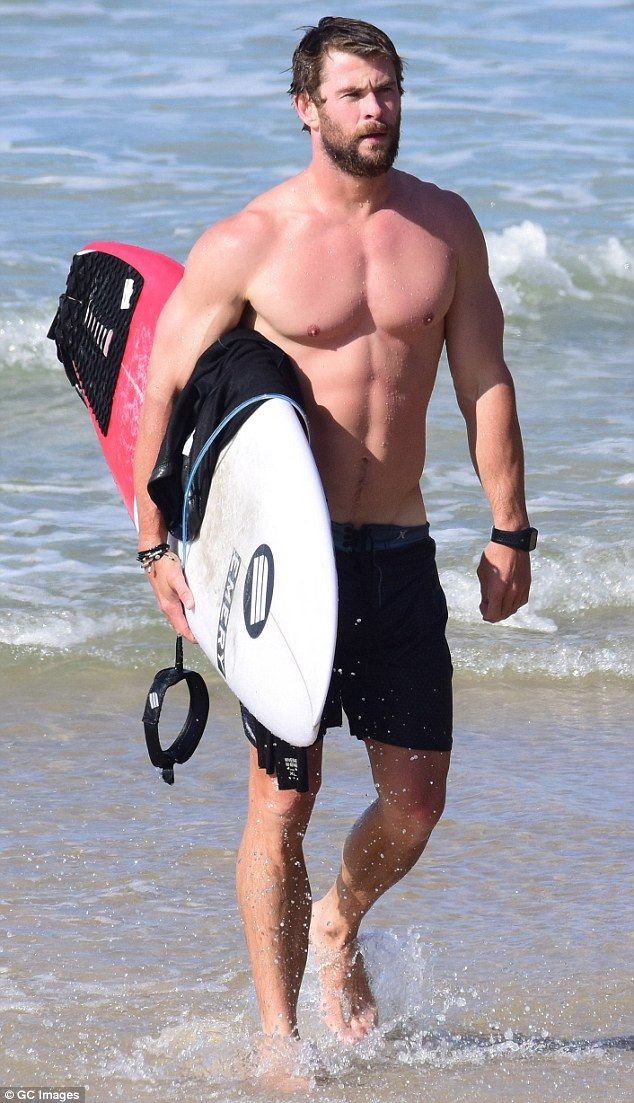 Rutina Chris Hemsworth Thor, brazo y abdomen