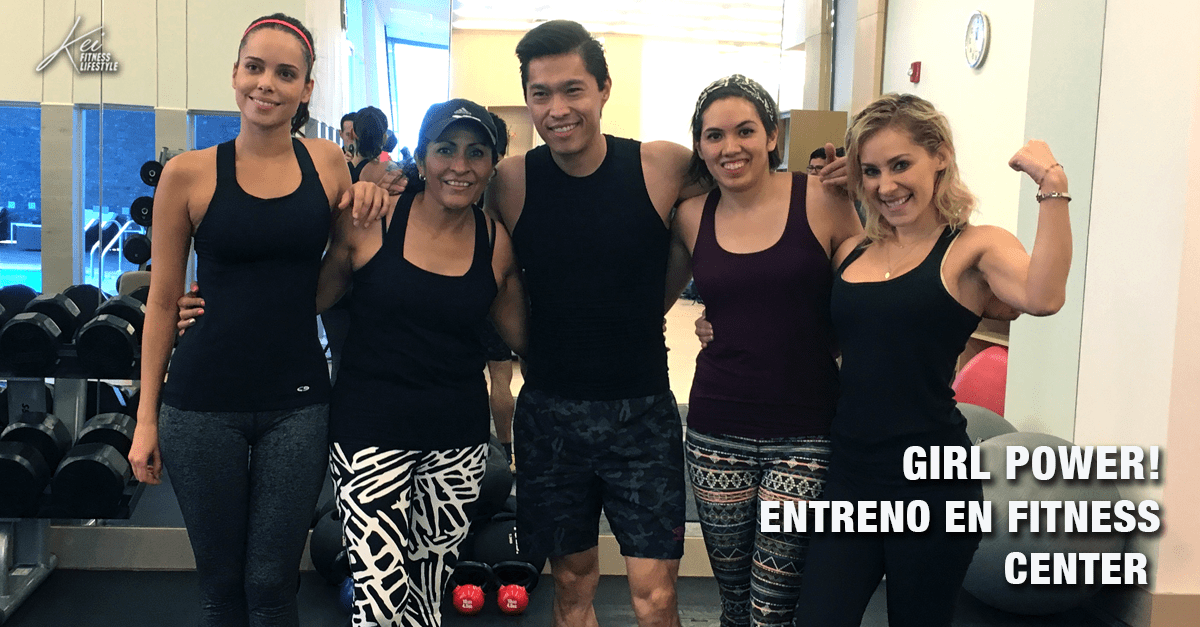 Entrenamiento Fitness con Influencers en Hyatt