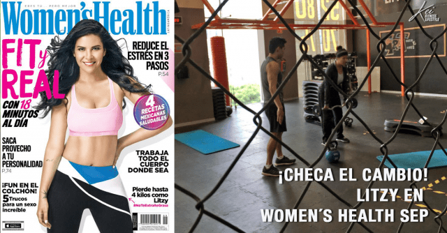 Litzy en Women´s Health, súper FIT