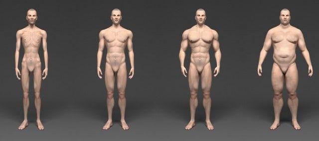 Tipos de cuerpo de hombre, ¿Cuál es el tuyo?