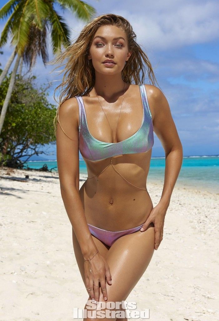 Gigi Hadid en Sports Illustrated ®