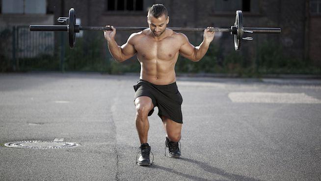 Rutina para pierna en el gym