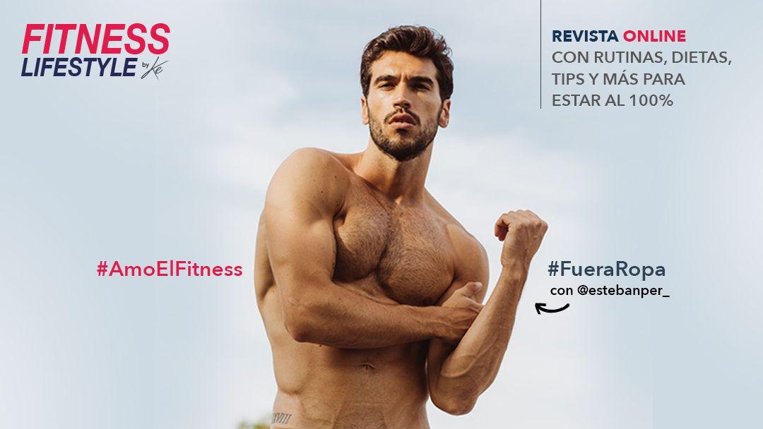 Rutina para abdomen de Fitness Model: Esteban Perdome
