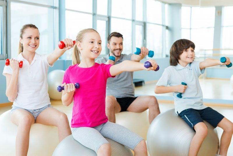 8 consejos de ejercicio y nutrición en niños