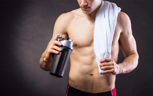 Suplementos pre y post entrenamiento, para ganar músculo