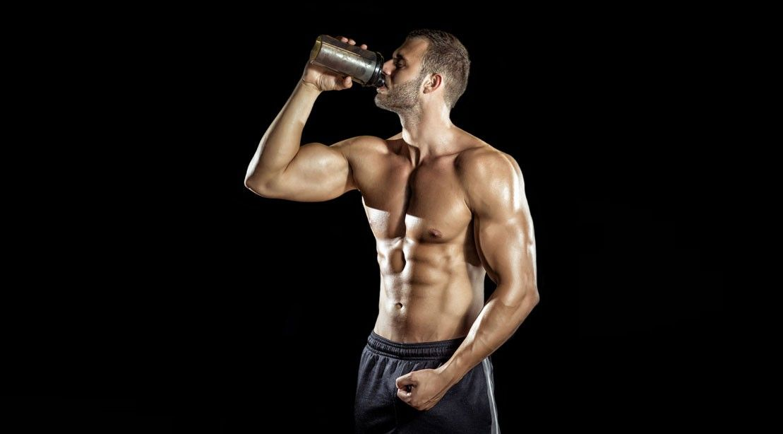 Licuado de proteína para ganar músculo y libido