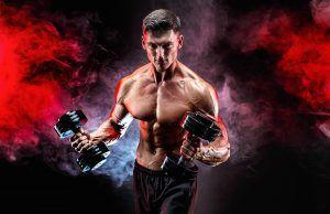11 ejercicios para brazo y hombro que debes hacer en el gym. Si quieres aumentar volumen y tamaño muscular debes entrenar con pesos libres (barras, mancuernas) y aparatos. Lograr la hipertrofia muscular. Checa la rutina.