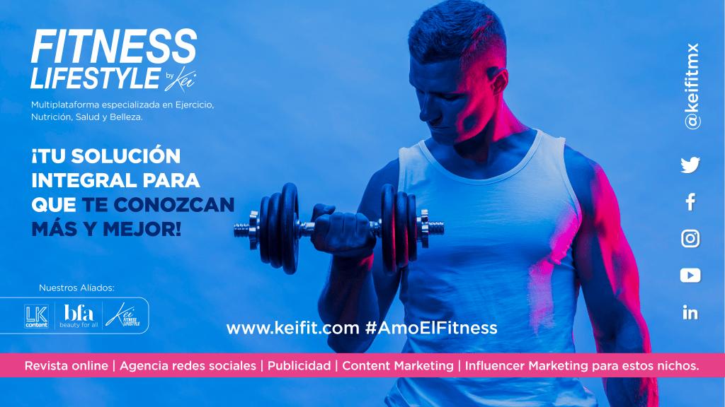 revista fitness lifestyle, agencia de marketing para redes sociales nicho fitness y belleza y salud